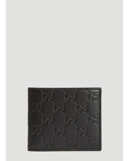 bf287b23f Gucci Double G Wallet In Black in Black for Men - Lyst