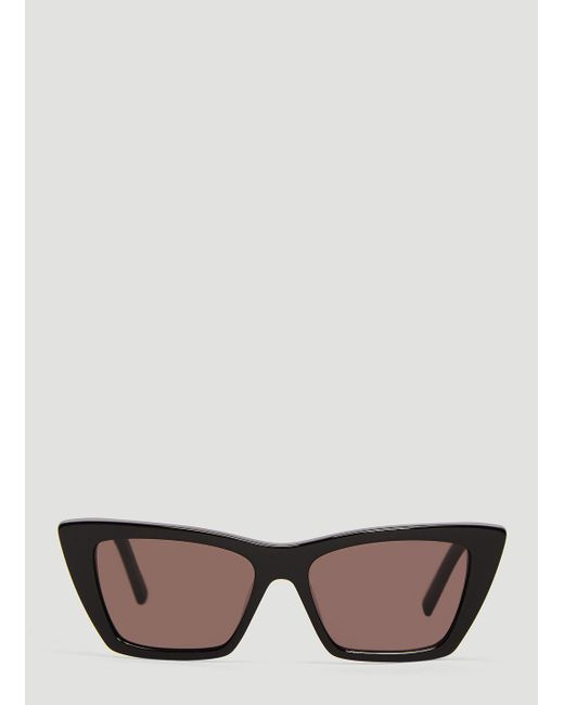 41e96c1bd4f Lyst - Saint Laurent Sl 276 Ace Sunglasses In Black in Black for Men