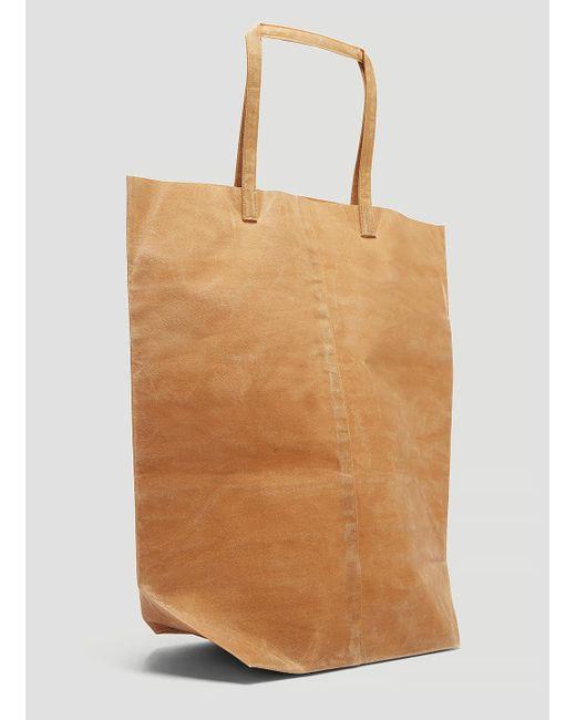 fcb57e8f4a8f ... Funagata - 001 Waxed Canvas Bag In Brown for Men - Lyst ...
