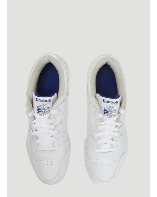 ... Reebok - Workout Plus Sneakers In White for Men - Lyst ... d9af72c47