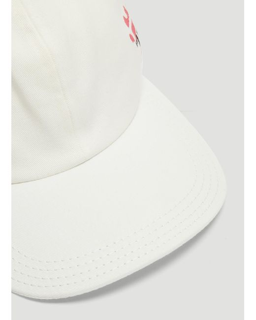 26e572ef936 Lyst - Off-White c o Virgil Abloh Stencil Baseball Cap In White in ...