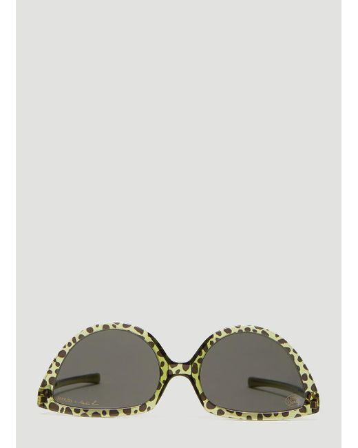 07770c6ae575 Mykita - Multicolor X Martine Rose Cat Eye Sunglasses In Brown for Men -  Lyst ...