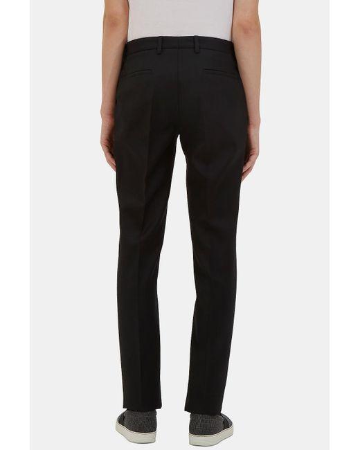 Calvin klein Menu0026#39;s Exact Slim Leg Wool Pants In Black in Black for Men - Save 61% | Lyst