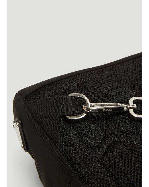 19ecdcb2d5fe88 ... Prada - Fabric Shoulder Strap Backpack In Black for Men - Lyst ...