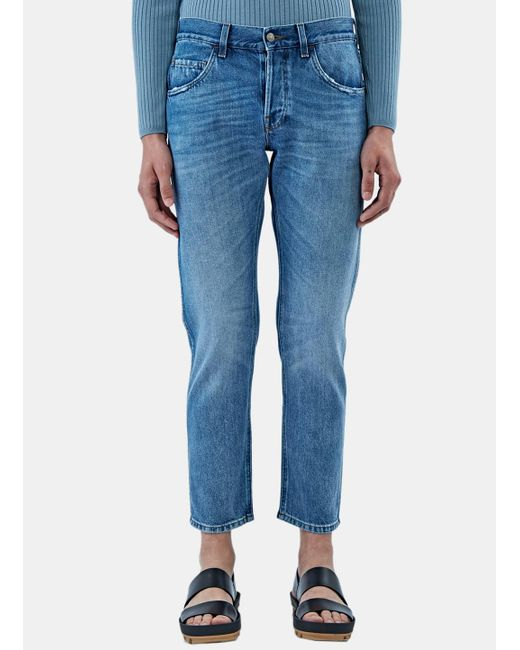 Gucci | Blue Straight Leg Jean for Men | Lyst