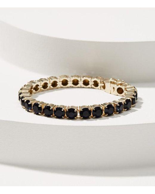 LOFT | Metallic Crystal Tennis Bracelet | Lyst