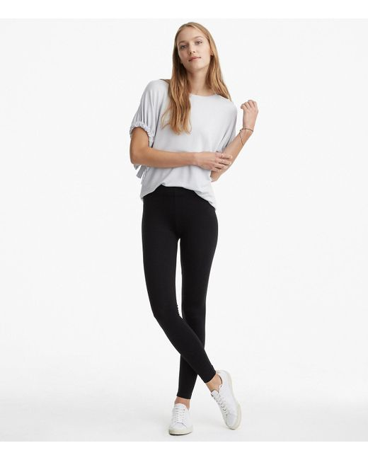 LOFT - Black Lou & Grey Essential Leggings - Lyst