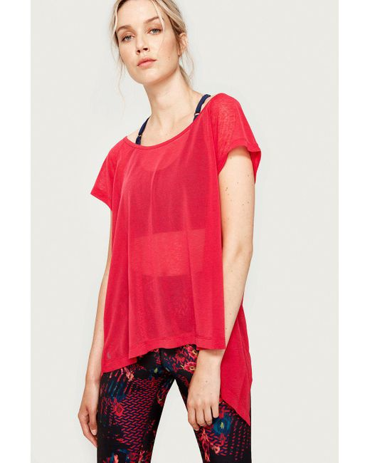 Lolë - Red Beth Tee - Lyst