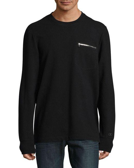 2xist   Black Cotton-blend Sweatshirt for Men   Lyst