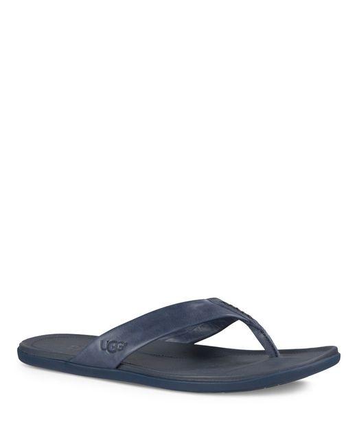 ugg flip flop slippers nordstrom