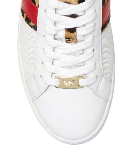 cb7a0fa779f7 MICHAEL Michael Kors Lage Sneakers in White - Save 57% - Lyst