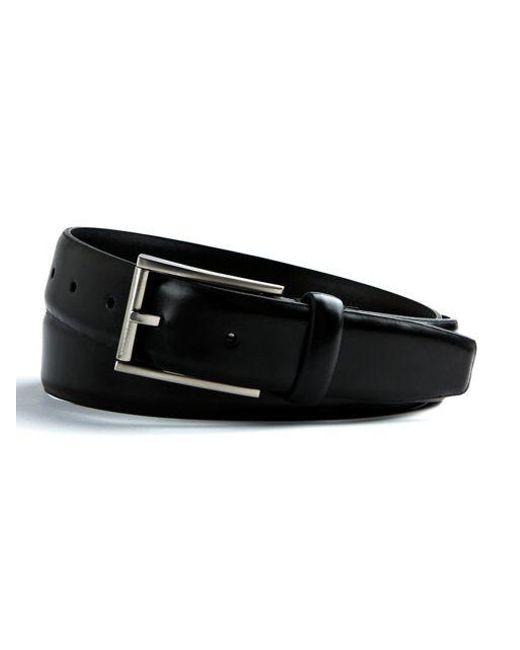 Calvin Klein | Black Leather Belt for Men | Lyst