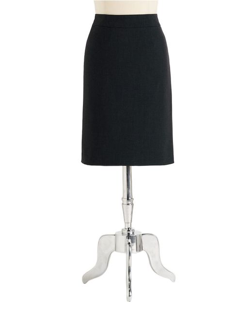 Calvin Klein | Black Pencil Skirt | Lyst