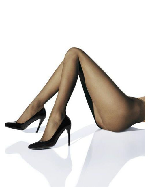 Wolford | Black Naked 8 Ultra Sheer Tights | Lyst
