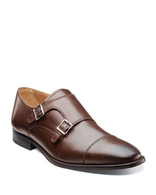 Florsheim   Brown Sabato Monk-strap Shoes for Men   Lyst