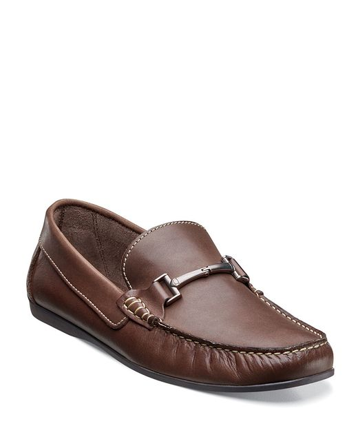 Florsheim | Brown Jasper Leather Bit Loafers for Men | Lyst