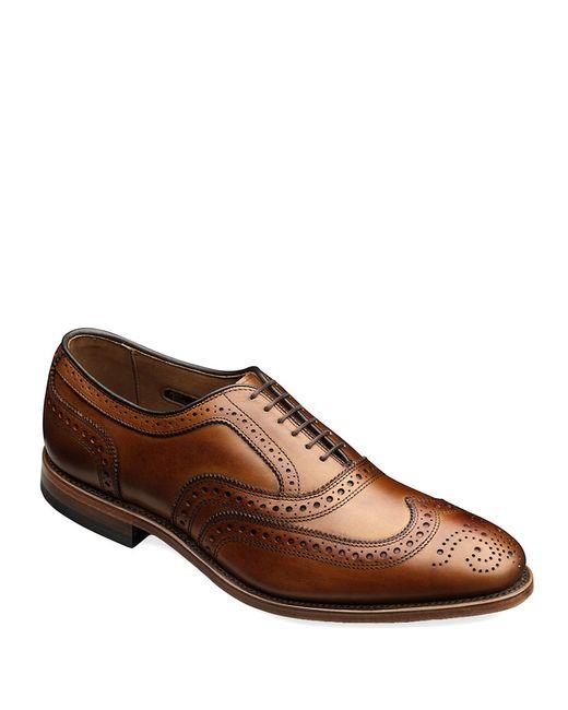 Allen Edmonds | Brown Mcallister Leather Brogue Oxfords for Men | Lyst