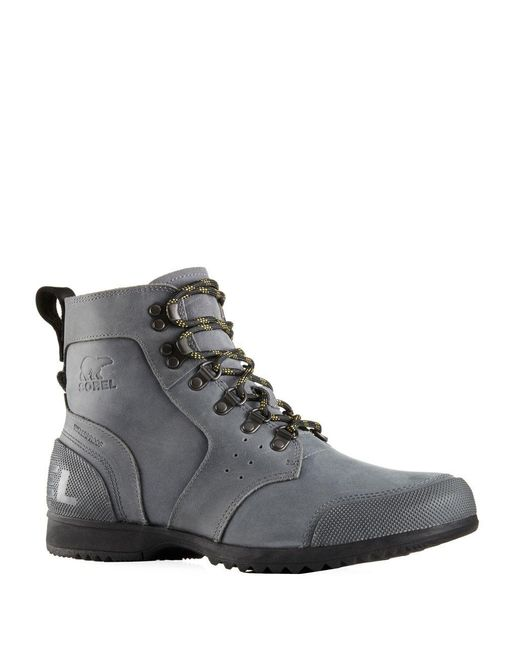 Sorel | Gray Ankeny Mid-hiking Boots for Men | Lyst