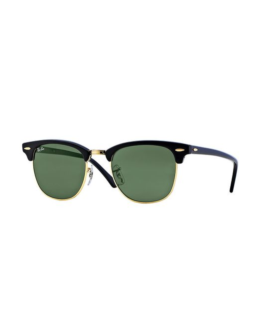 Ray-Ban | Black Orginal Clubmaster Cat's-eye Sunglasses | Lyst