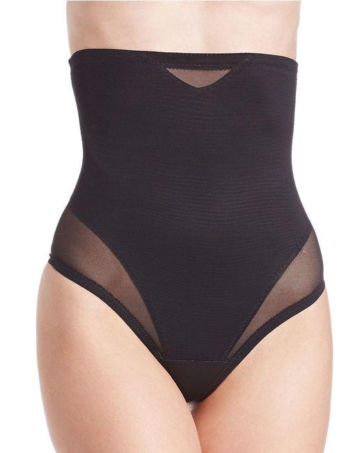 Miraclesuit | Black Thong High-waist Cincher | Lyst