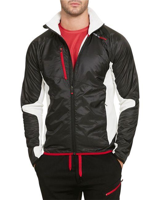 Polo Ralph Lauren | Black Hybrid Full-zip Jacket for Men | Lyst