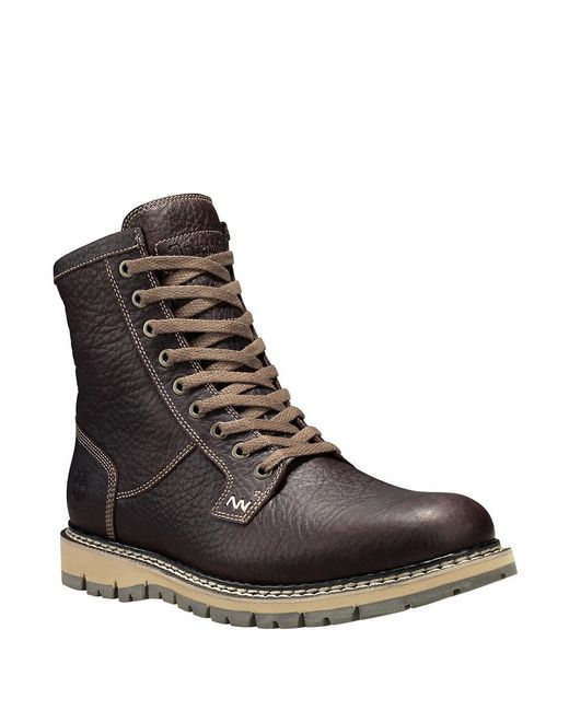 Timberland Britton Hill Waterproof Plain Toe Boots In