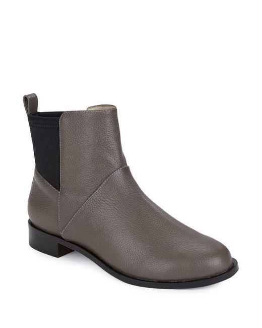 Matt Bernson   Gray Harper Leather Booties   Lyst