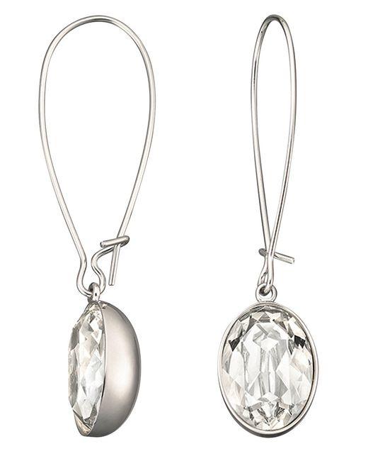 Swarovski | Metallic Puzzle Crystal Earrings | Lyst