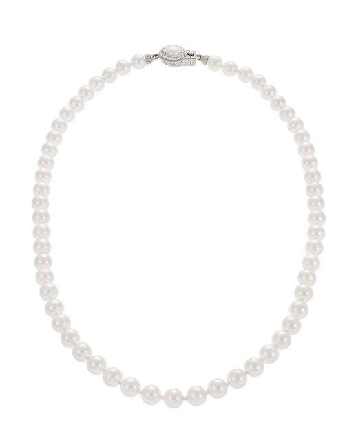 Nadri | Natural Faux Pearl Princess Necklace | Lyst