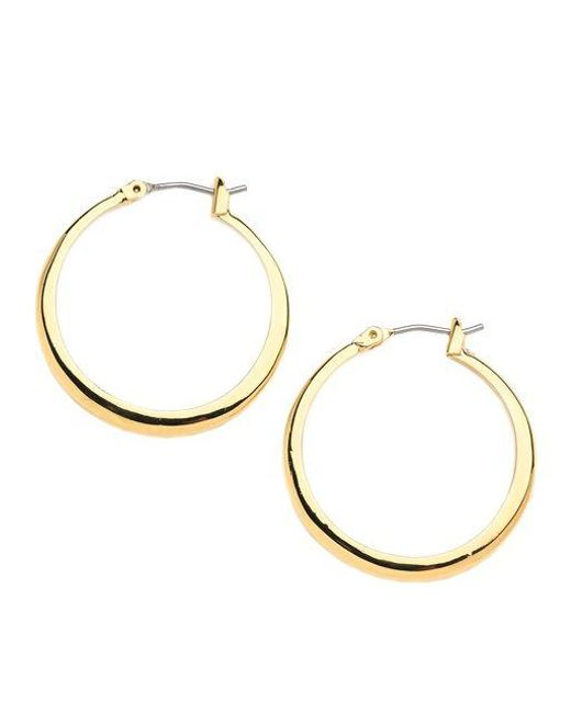 Kenneth Cole | Yellow Small Hoop Earrings | Lyst