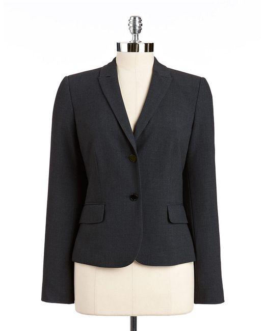 Calvin Klein   Black Two Button Blazer   Lyst