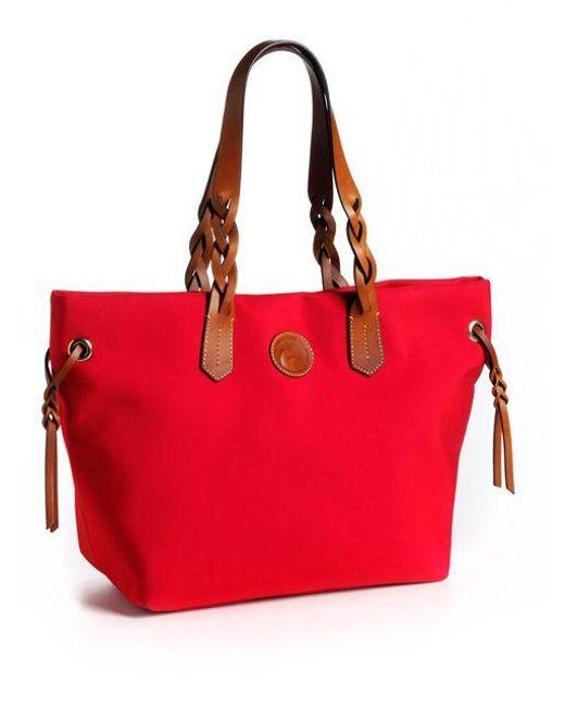 Dooney & Bourke | Red Nylon Shopper | Lyst