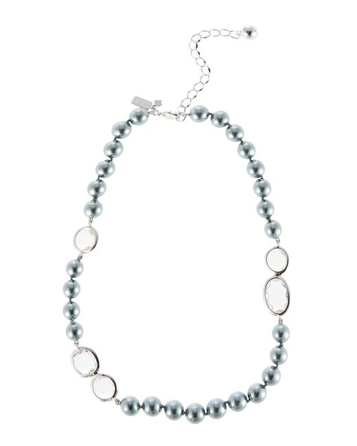 Kate Spade | Gray Pearlescent Baubles Choker | Lyst