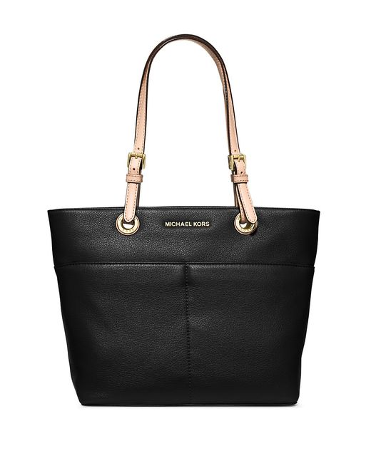 MICHAEL Michael Kors | Black Bedford Leather Tote | Lyst
