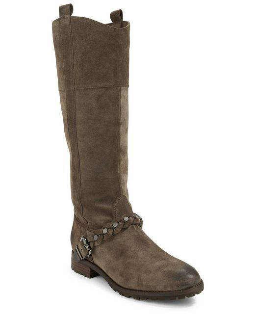 Belle By Sigerson Morrison | Multicolor Lyle Suede Knee-high Boots | Lyst