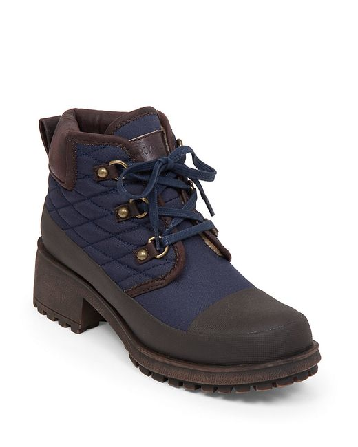 Lucky Brand | Brown Akonn Quilted Sherpa-lined Booties | Lyst
