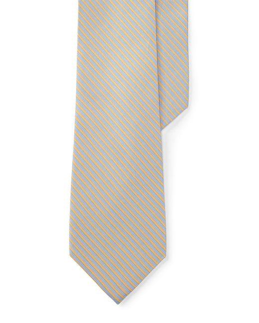 Lauren by Ralph Lauren | Multicolor Striped Silk-blend Tie for Men | Lyst