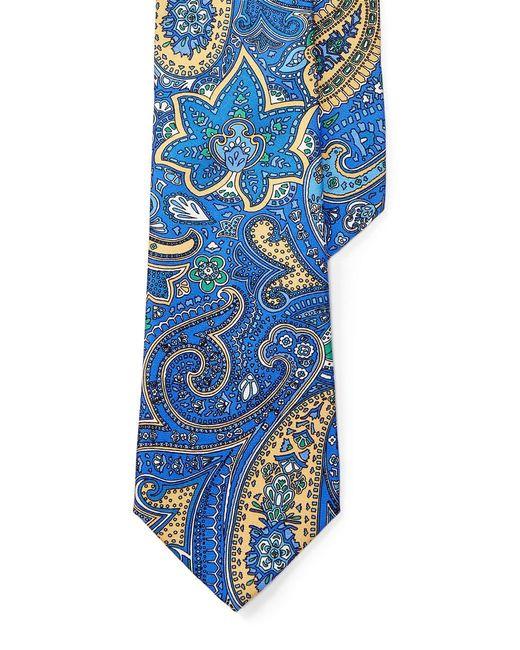 Lauren by Ralph Lauren   Yellow Paisley Silk Tie for Men   Lyst