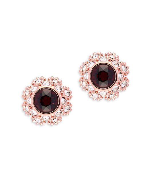 Ted Baker   Multicolor Crystal Daisy Lace Crystal Serra Stud Earrings   Lyst