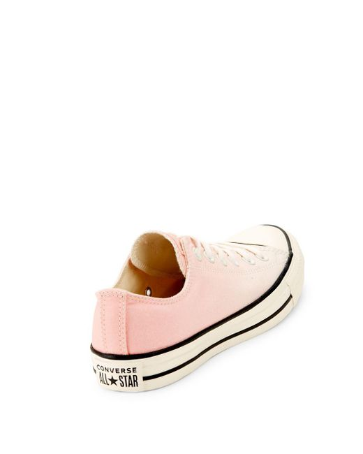 e54f123ee55f ... Converse - Pink All Star Ox Low-top Sneakers - Lyst ...
