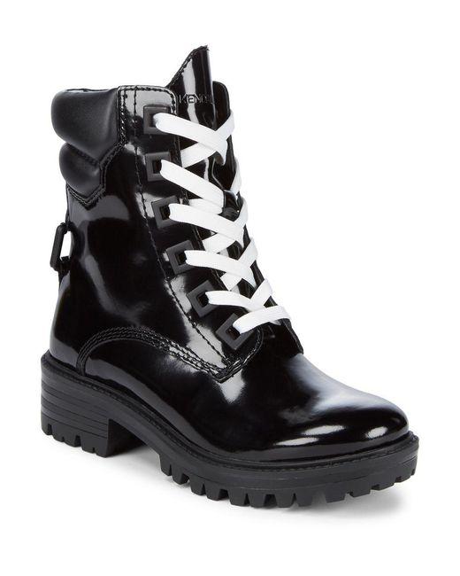 Kendall + Kylie - Black East Leather Boots - Lyst