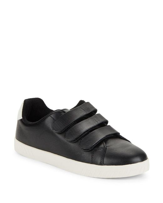 Tretorn - Black Carry 2 Leather Sneakers for Men - Lyst