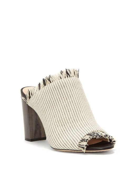 Vince Camuto - Natural Chestalan Peep Toe Mules - Lyst