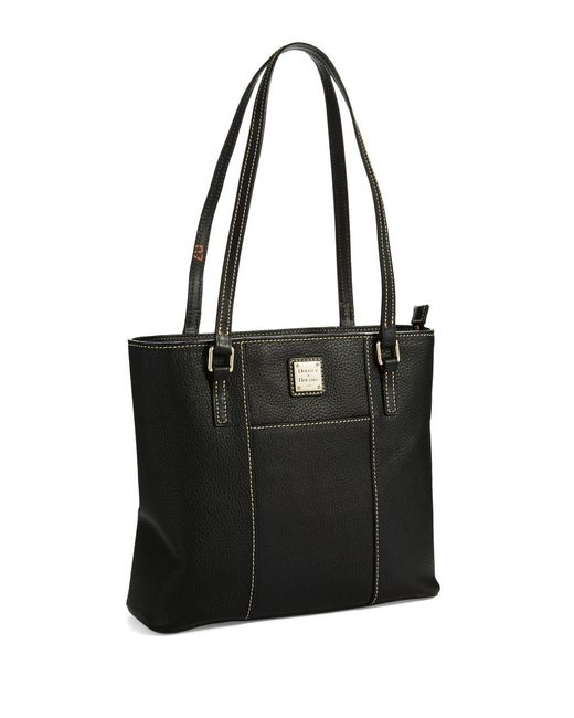 Dooney & Bourke - Black Small Lexington Shopper Tote - Lyst