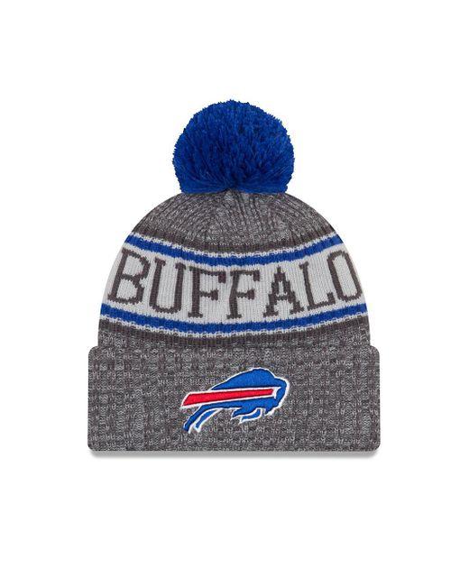 1f6800ba5 KTZ - Blue Nfl Sideline Buffalo Bills Cold Weather Sport Knit Hat for Men -  Lyst ...