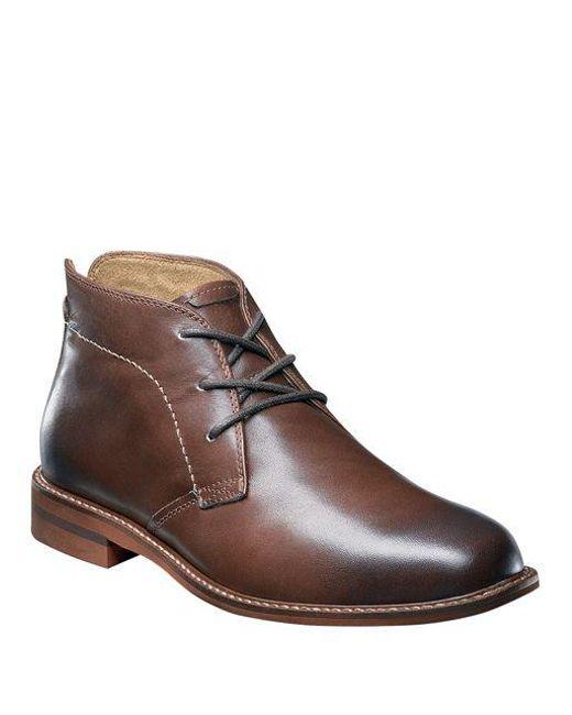 Florsheim - Brown Doon Leather Chukka Boots for Men - Lyst
