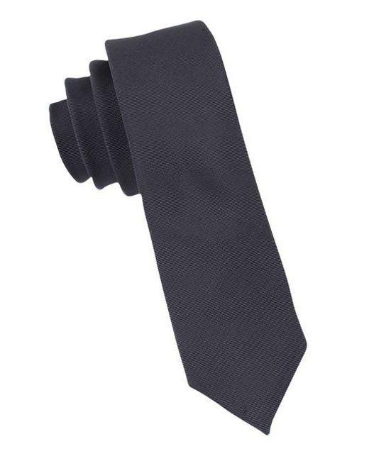 Calvin Klein | Multicolor Slim Fit X Liquid Luxe Solid Silk-blend Tie for Men | Lyst