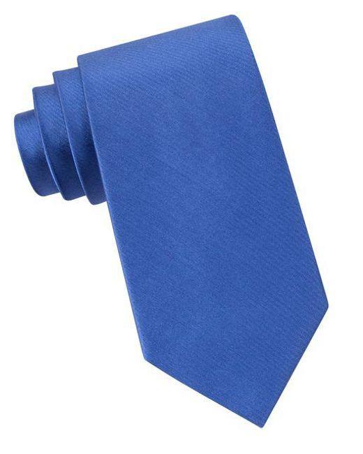 MICHAEL Michael Kors | Blue Sapphire Silk Tie for Men | Lyst