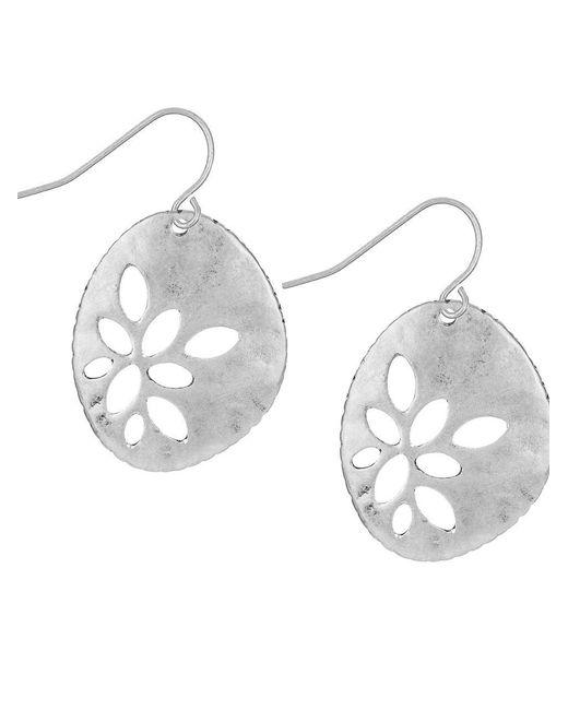 The Sak | Metallic Cut-out Drop Earrings | Lyst