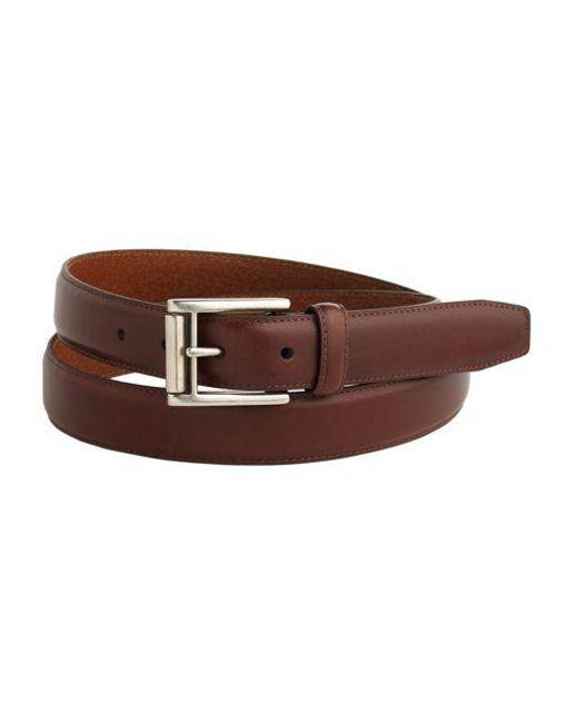 Lauren by Ralph Lauren | Brown Leather Buckle Belt for Men | Lyst
